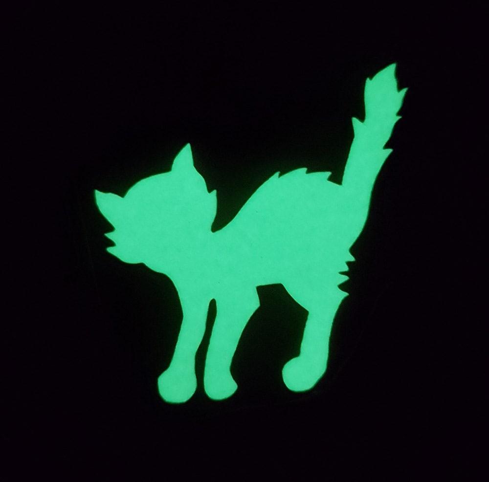 """Наклейка """"Кошка"""" 6,5*6,1см Цвет выбирайте ниже"""