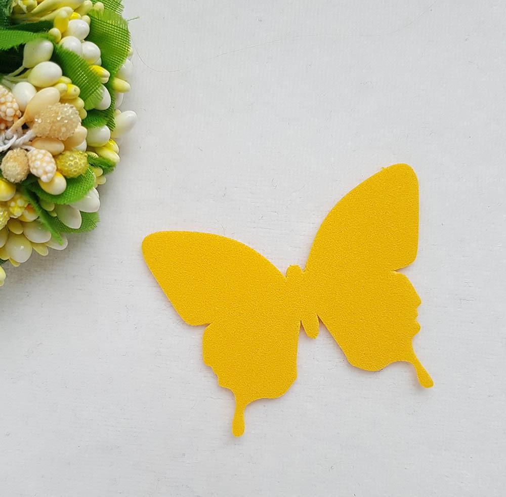Бабочка из фоамирана 58*45мм