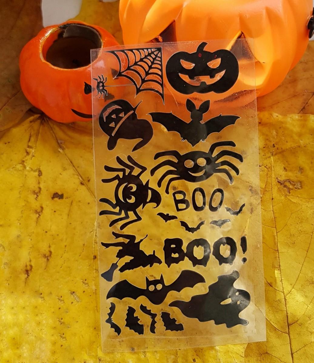 """Набор наклеек """"Хэллоуин"""""""