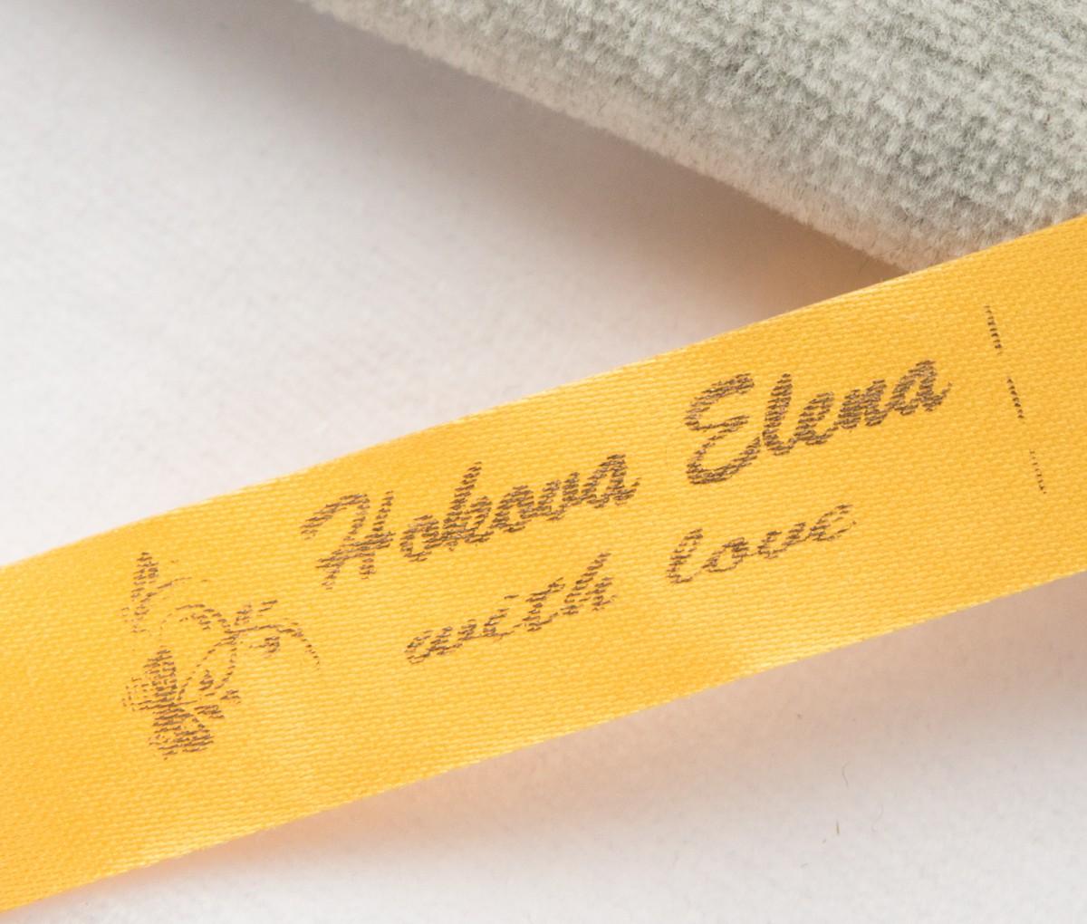 Лента сатин цветная+золото 15мм/500шт (4 руб/шт.)