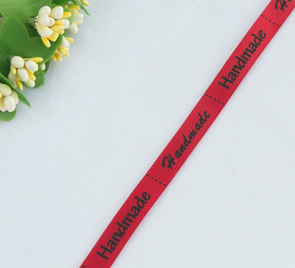 Лента Handmade 10мм/1метр